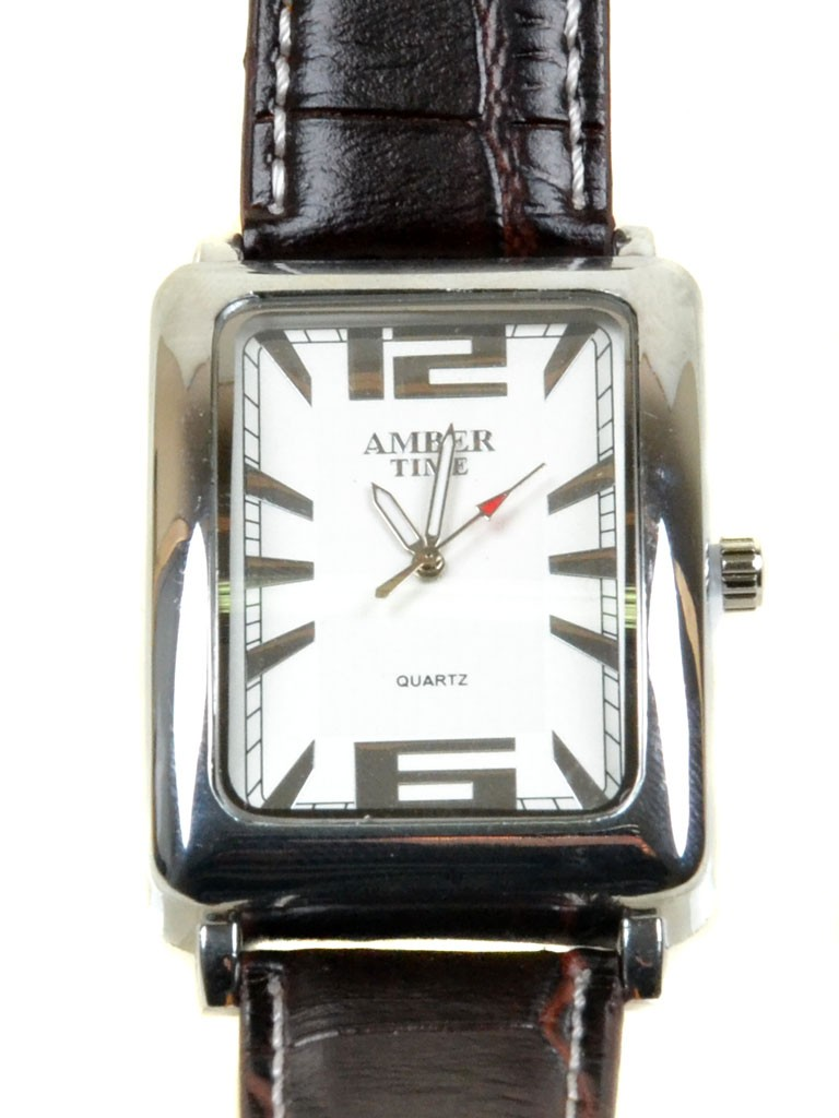 Часы Кварц Мужские T4004-3 серебро ремешок металл