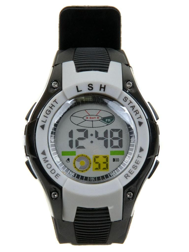 Часы Спорт 5001-6 сер водонепроницаемые