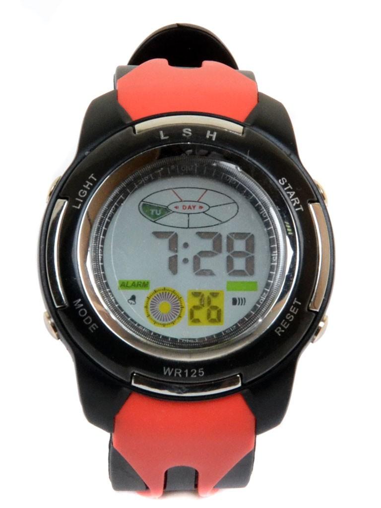 Часы Спорт 5001-7 чер водонепроницаемые