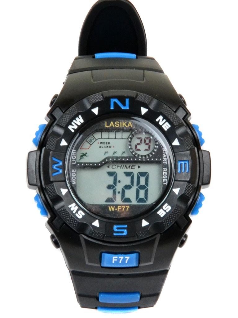 Часы Спорт 5001-8 чер водонепроницаемые