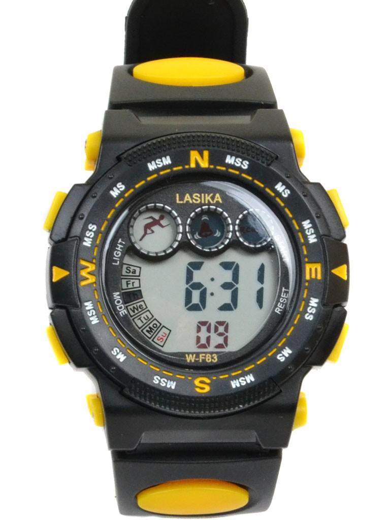 Часы Спорт 5001-9 чер водонепроницаемые