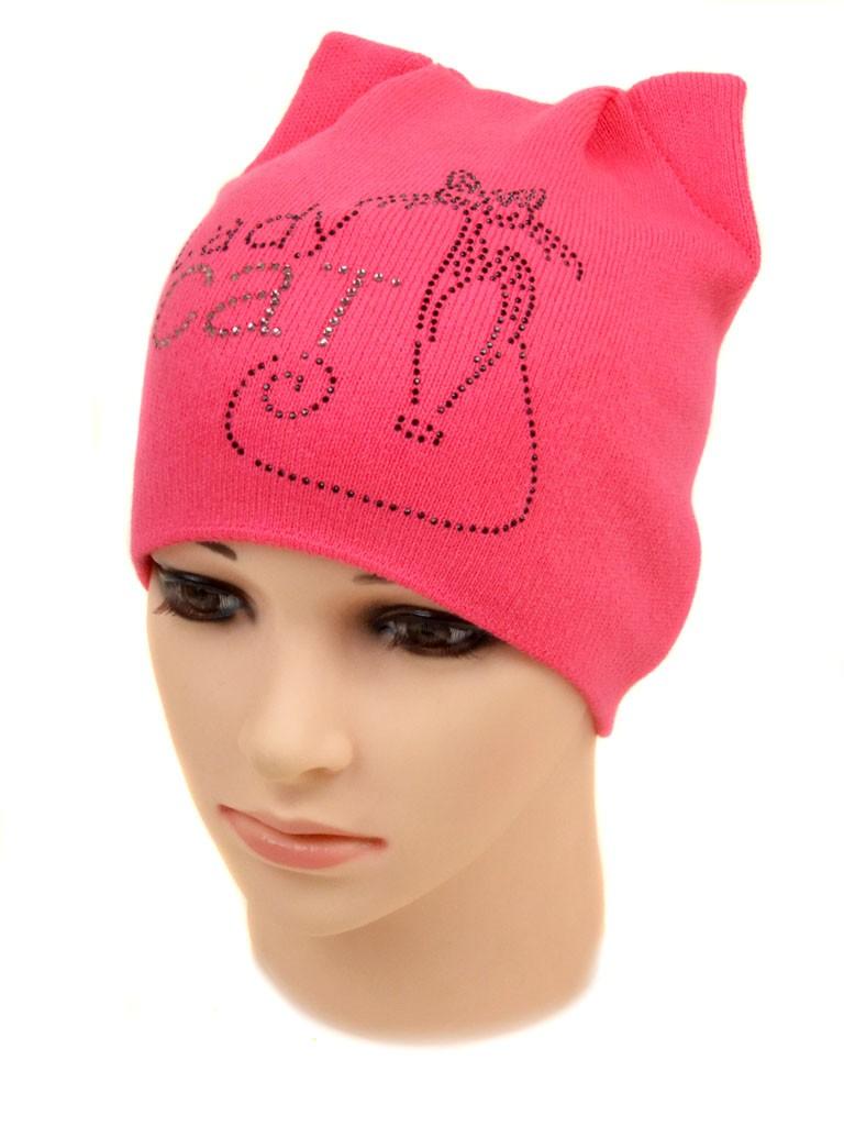 Шапка Детская вязка 1128 pink