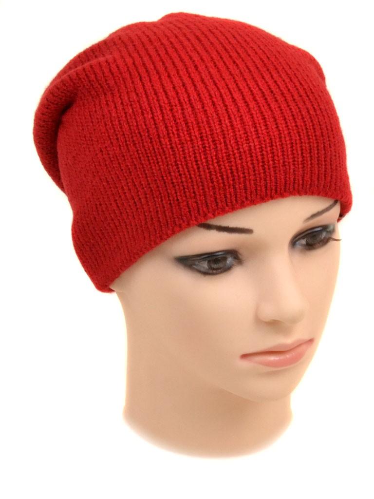 Шапка Женская вязка 829-4 red