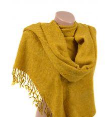 Шарф Женский Осень-Зима вязка A3268 yellow