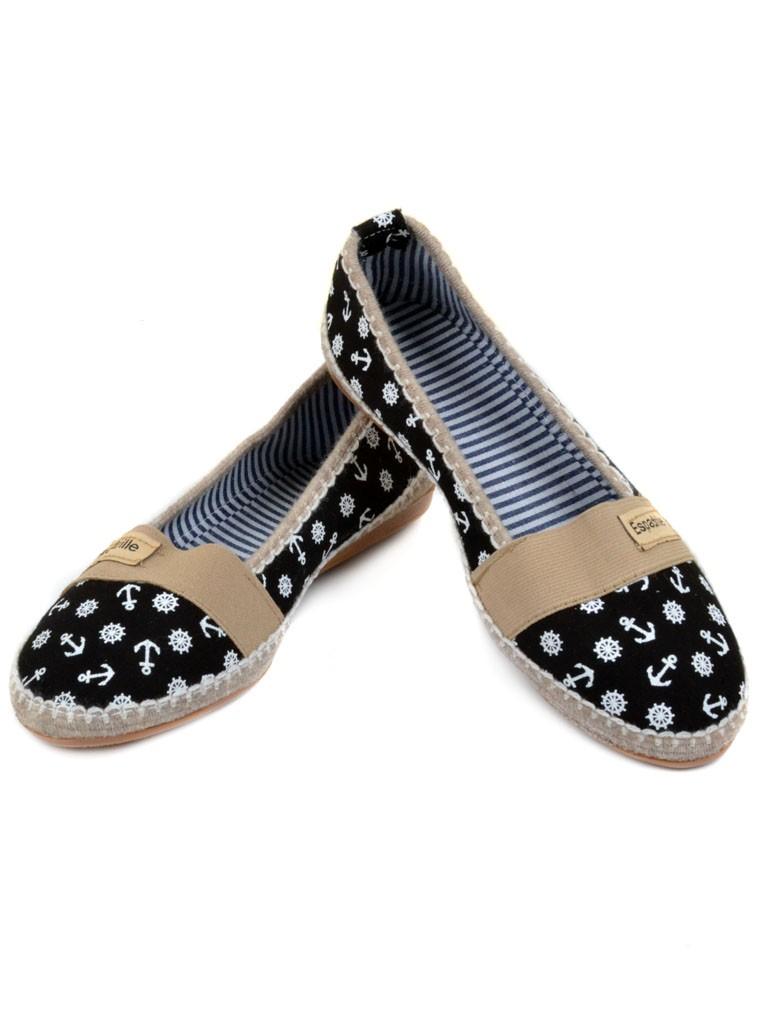 Обувь Женская  Эспадрильи 007 black 39(р)