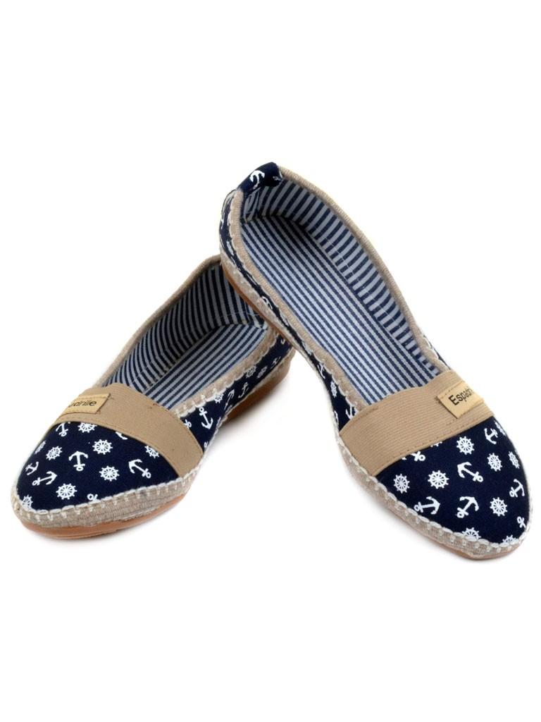 Обувь Женская  Эспадрильи 007 blue 37(р)