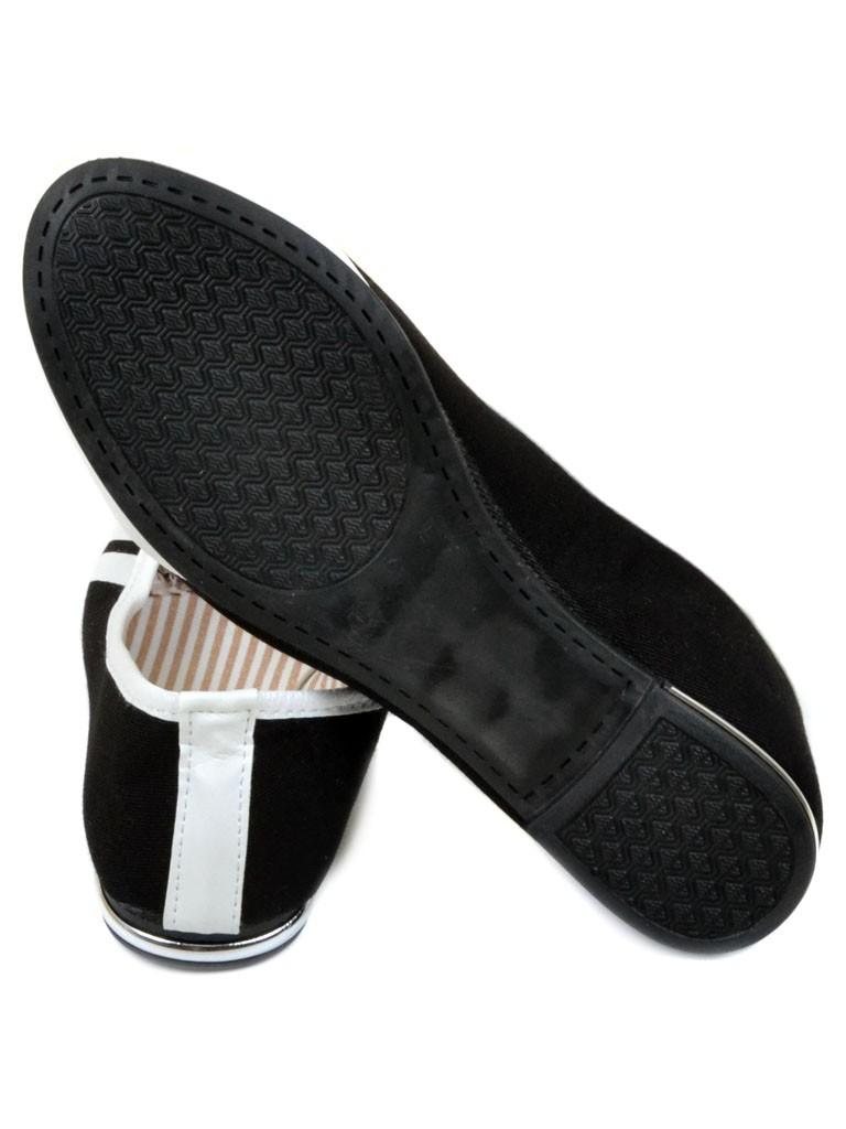 Обувь Женская  Эспадрильи 009 black 36(р) - фото 3