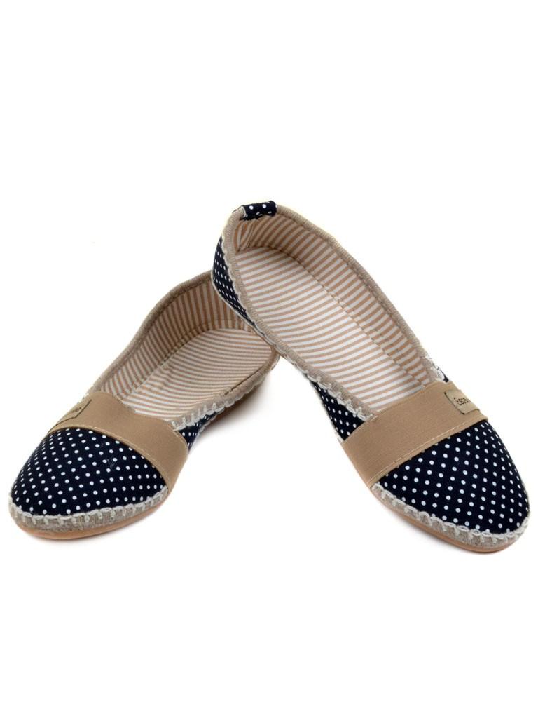 Обувь Женская  Эспадрильи 011 blue 36(р)