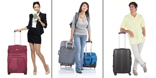 Купить дорожный чемодан на колесах в интернет-магазине с доставкой