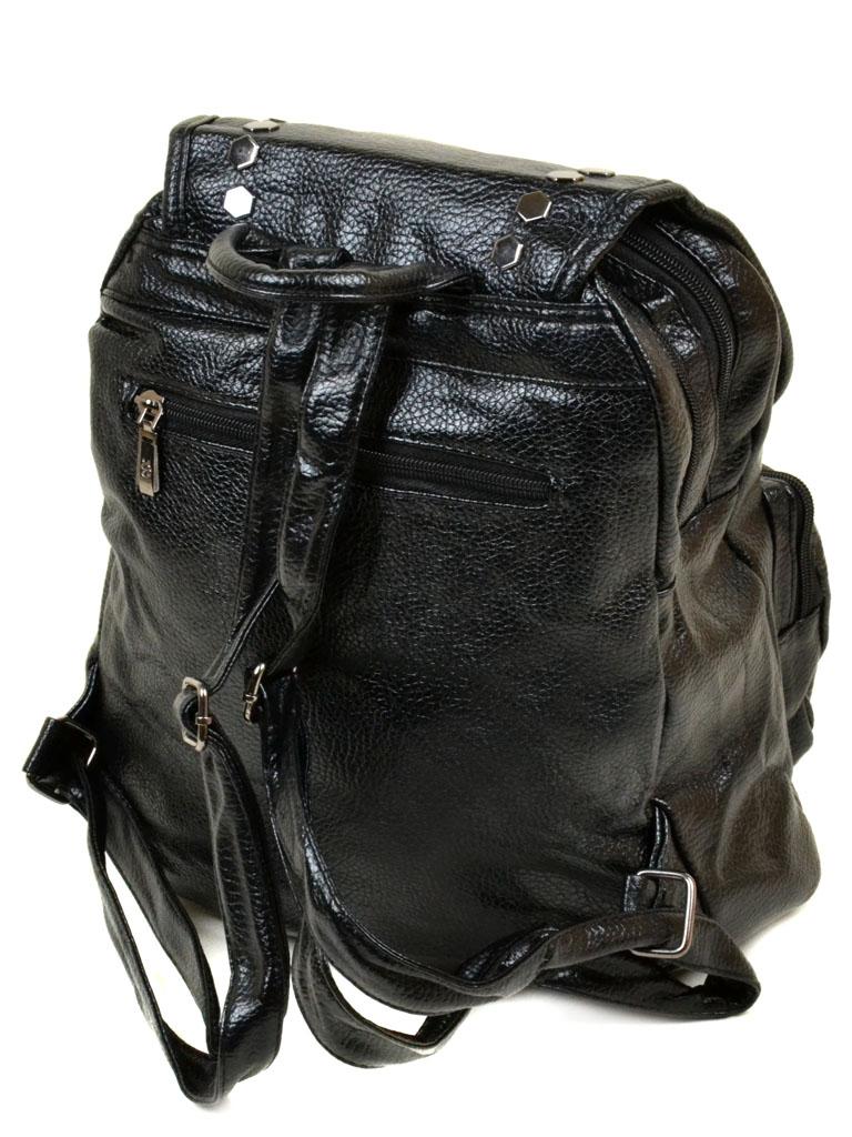 Сумка Женская Рюкзак иск-кожа 11-2 1036 black