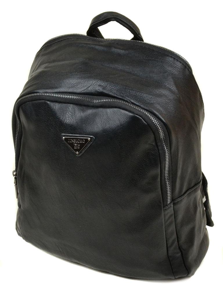 Сумка Женская Рюкзак иск-кожа 11-2 3061-1 black