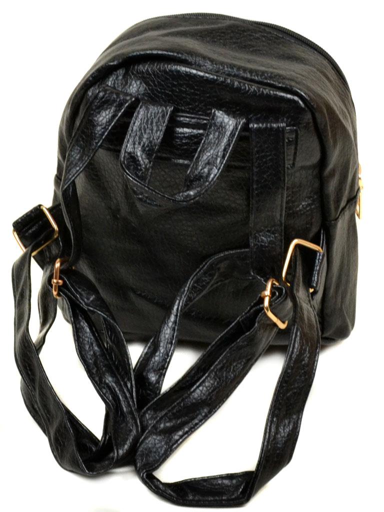 Сумка Женская Рюкзак иск-кожа 11-2 37 black