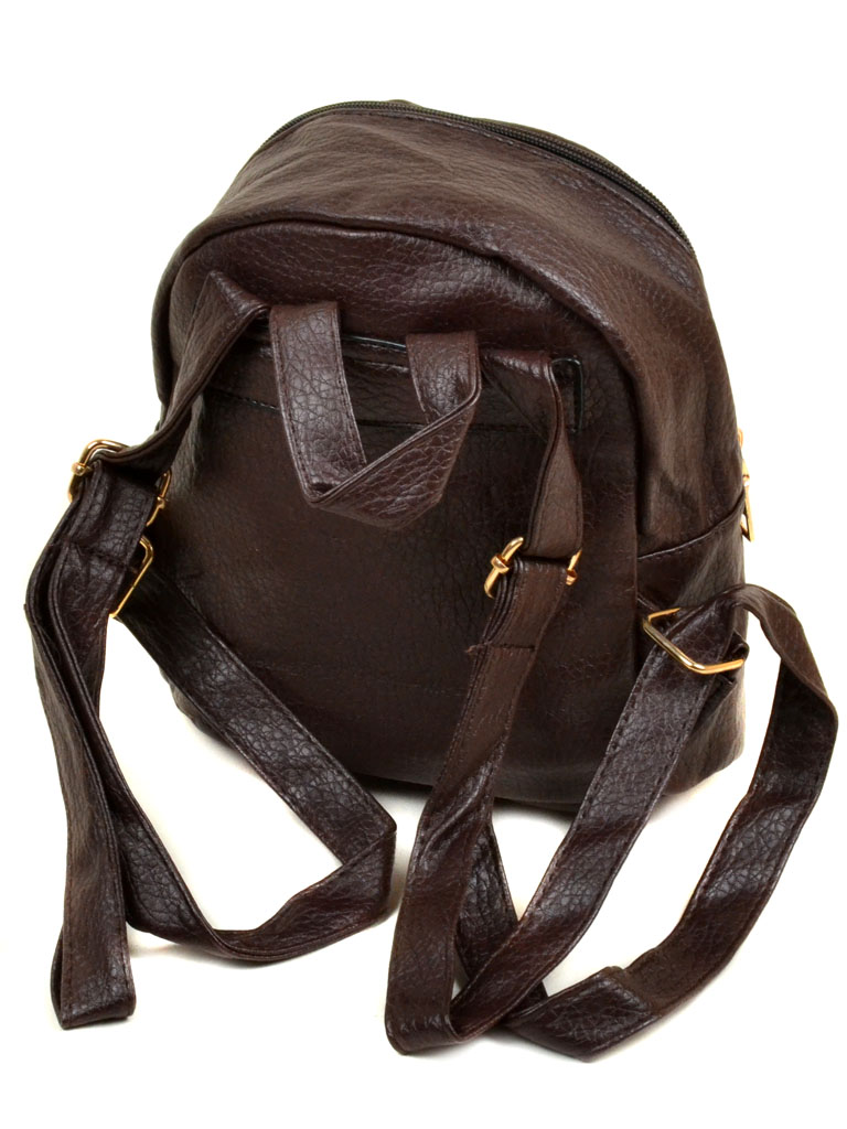 Сумка Женская Рюкзак иск-кожа 11-2 37 brown - фото 3