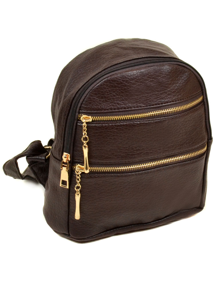Сумка Женская Рюкзак иск-кожа 11-2 37 brown