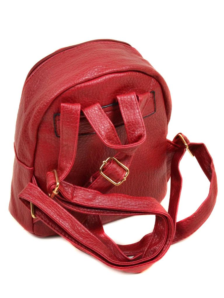 Сумка Женская Рюкзак иск-кожа 11-2 37 red - фото 3