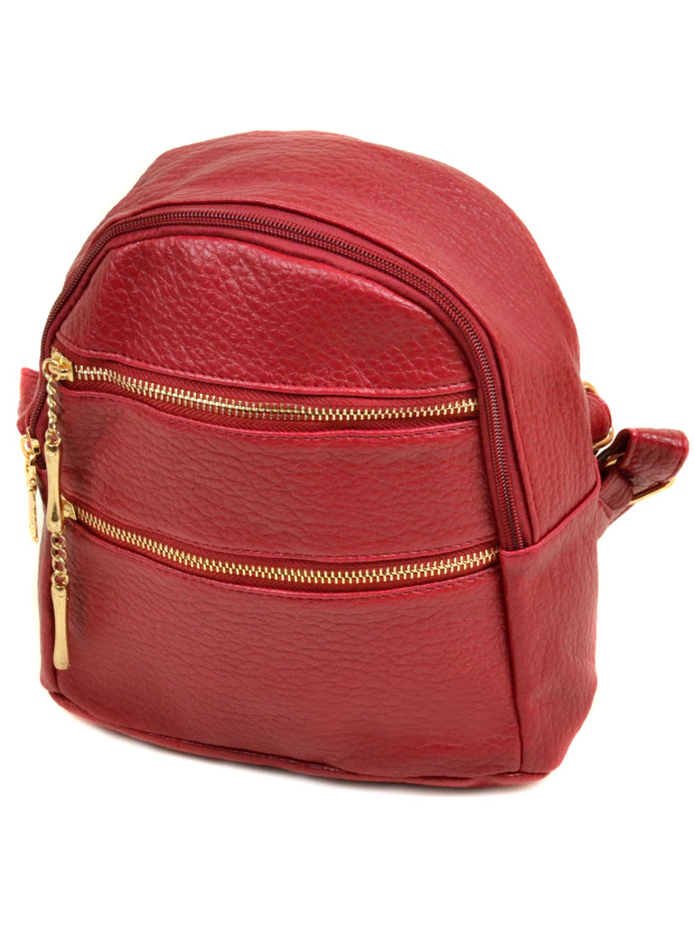 Сумка Женская Рюкзак иск-кожа 11-2 37 red
