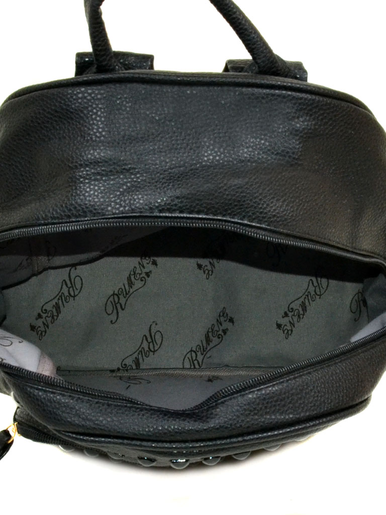 Сумка Женская Рюкзак иск-кожа 11-2 610-5 black - фото 4