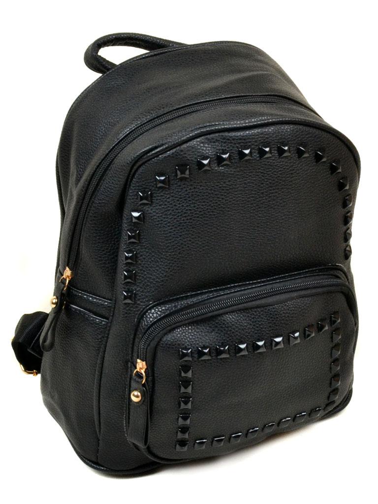 Сумка Женская Рюкзак иск-кожа 11-2 610-5 black