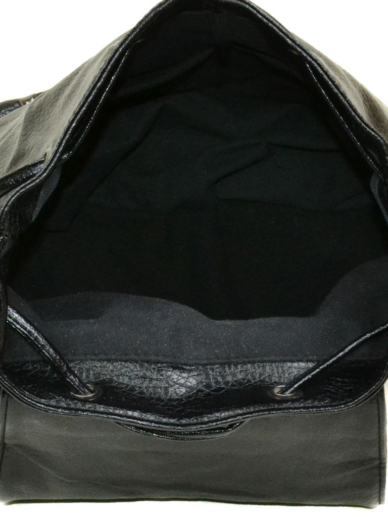 Сумка Женская Рюкзак иск-кожа 11-2 C32 black