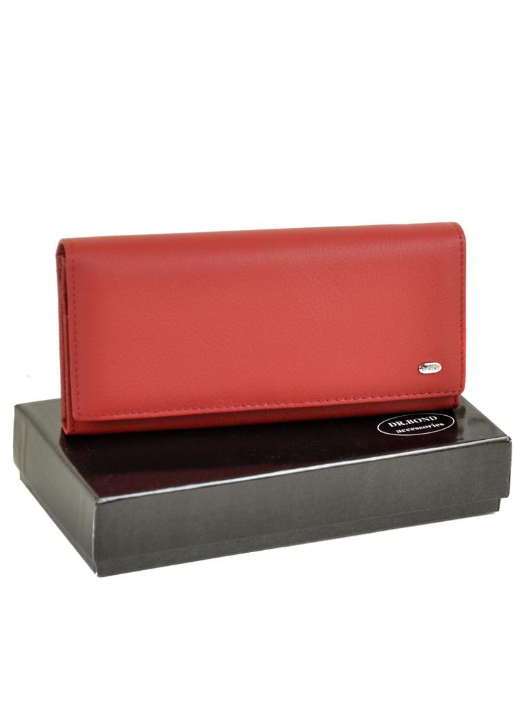 Кошелек Classik кожа DR. BOND W1-V red
