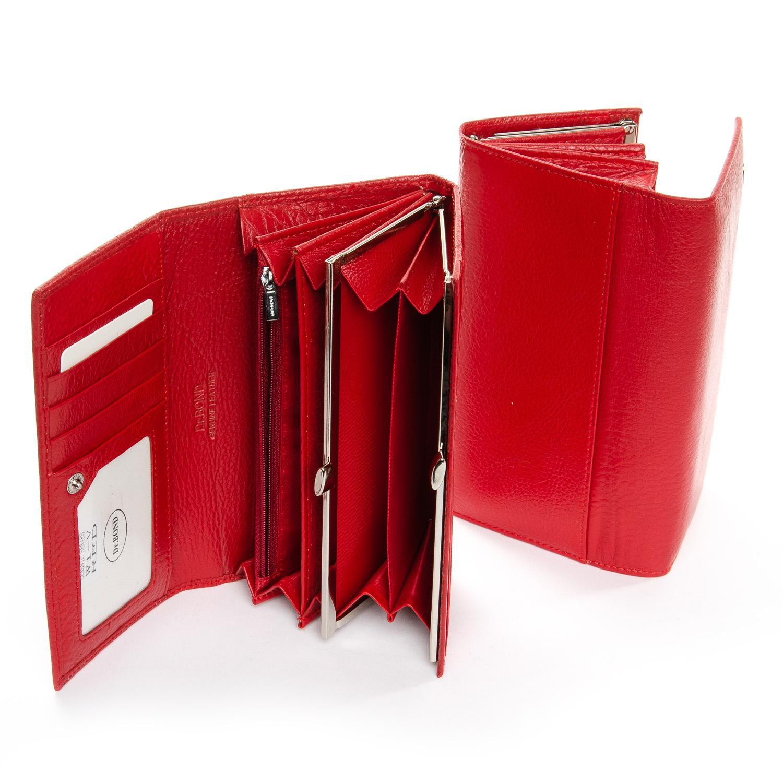 Кошелек Classic кожа DR. BOND W1-V red - фото 3