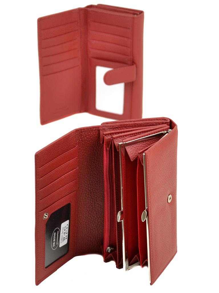Кошелек Classic кожа DR. BOND W46 red