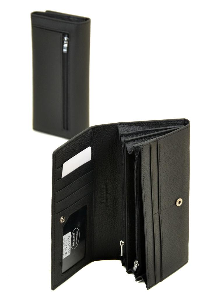 Кошелек Classic кожа DR. BOND W501 black - фото 4