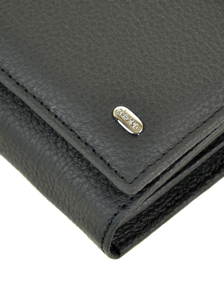 Кошелек Classic кожа DR. BOND W501 black - фото 3