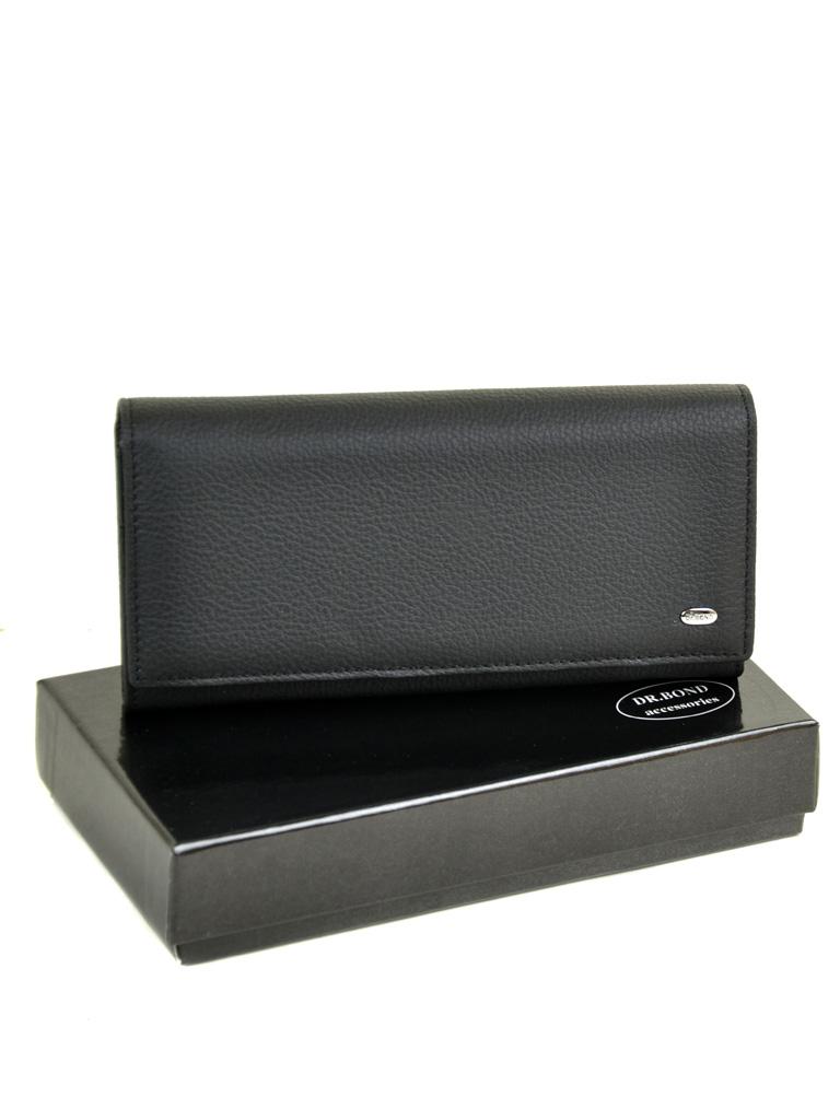 Кошелек Classic кожа DR. BOND W501 black