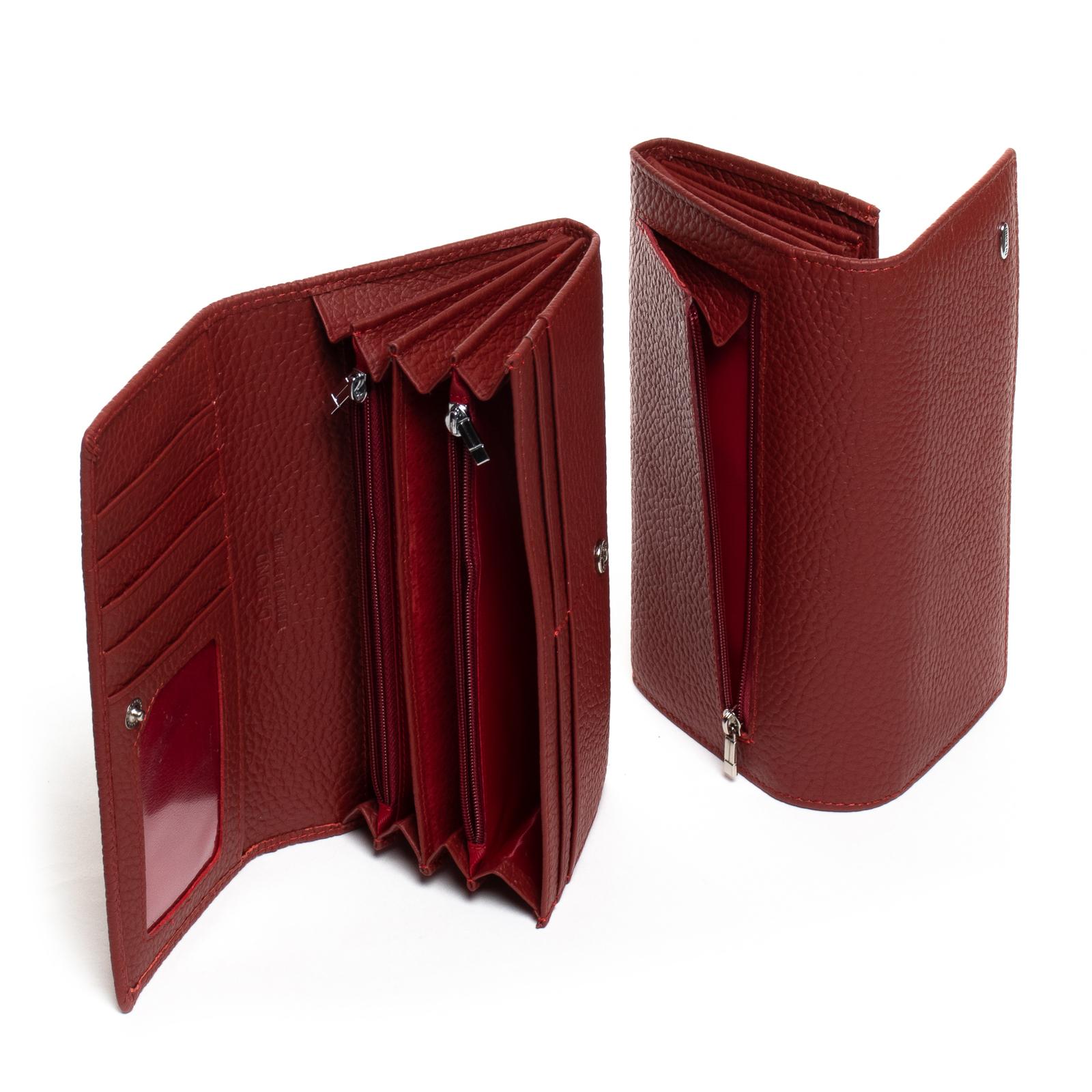 Кошелек Classic кожа DR. BOND W501 red - фото 4