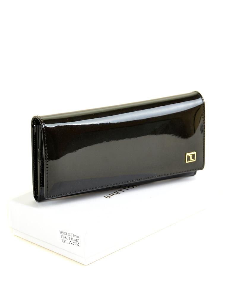 Кошелек Gold кожа BRETTON W0807 black