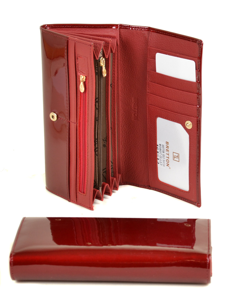 Кошелек Gold кожа BRETTON W0807 red