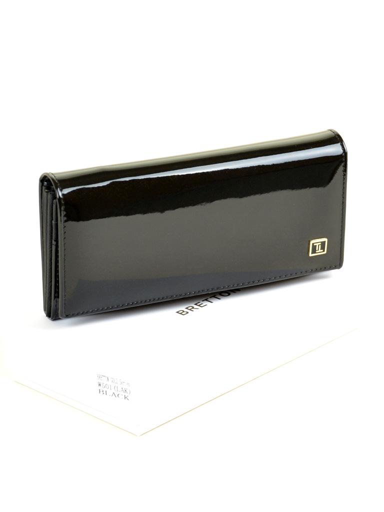 Кошелек Gold кожа BRETTON W501 black