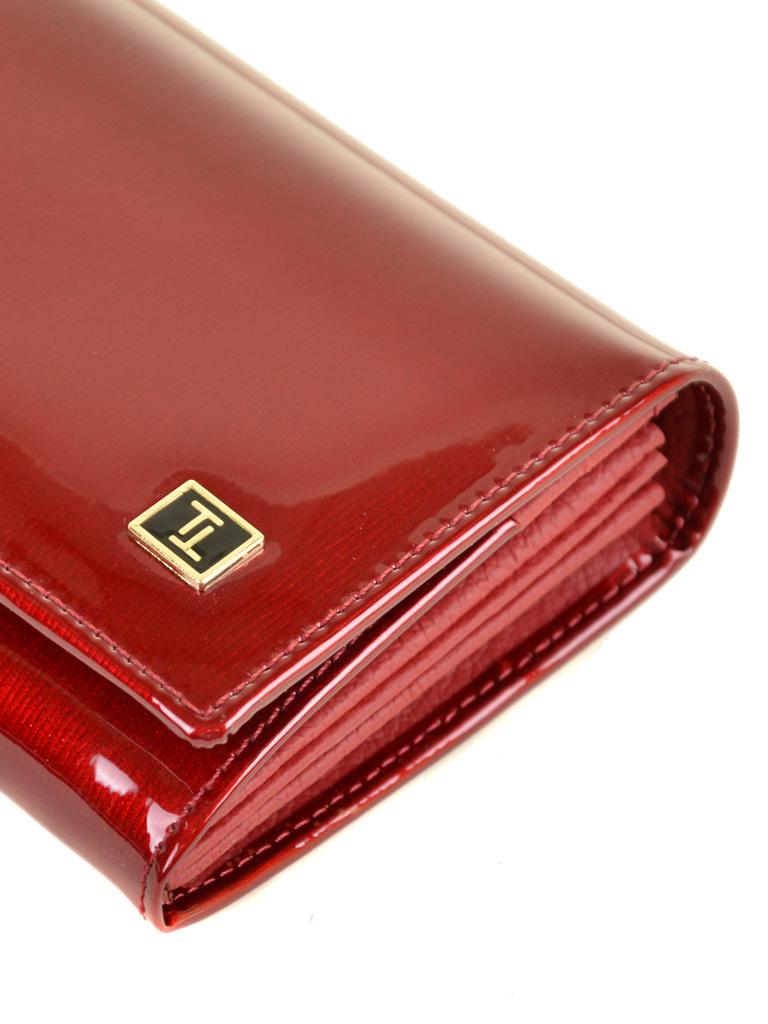 Кошелек Gold кожа BRETTON W501 red - фото 3