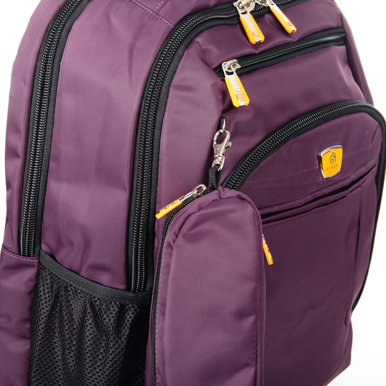 Рюкзак Городской нейлон Power In Eavas 5143 violet - фото 3