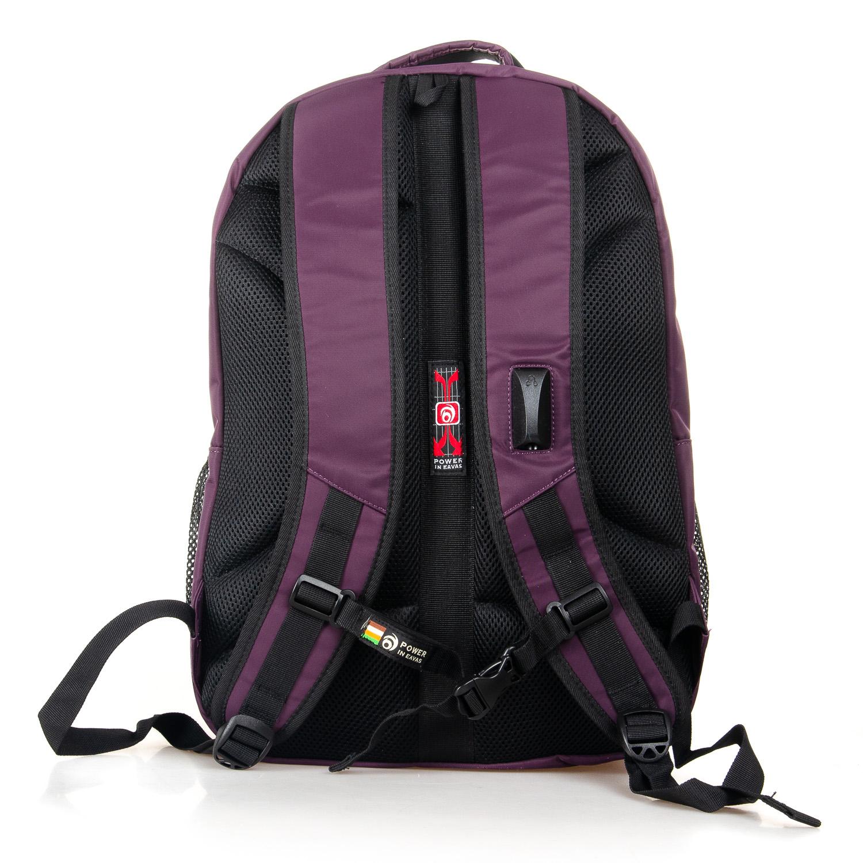 Рюкзак Городской нейлон Power In Eavas 5143 violet - фото 4