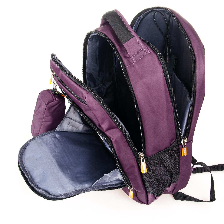 Рюкзак Городской нейлон Power In Eavas 5143 violet - фото 5