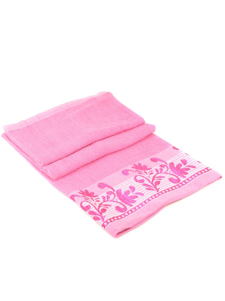 Полотенце Банное махра 2909 pink