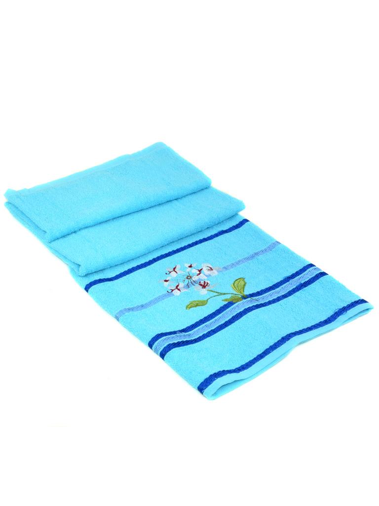 Полотенце Банное махра 2910 l-blue