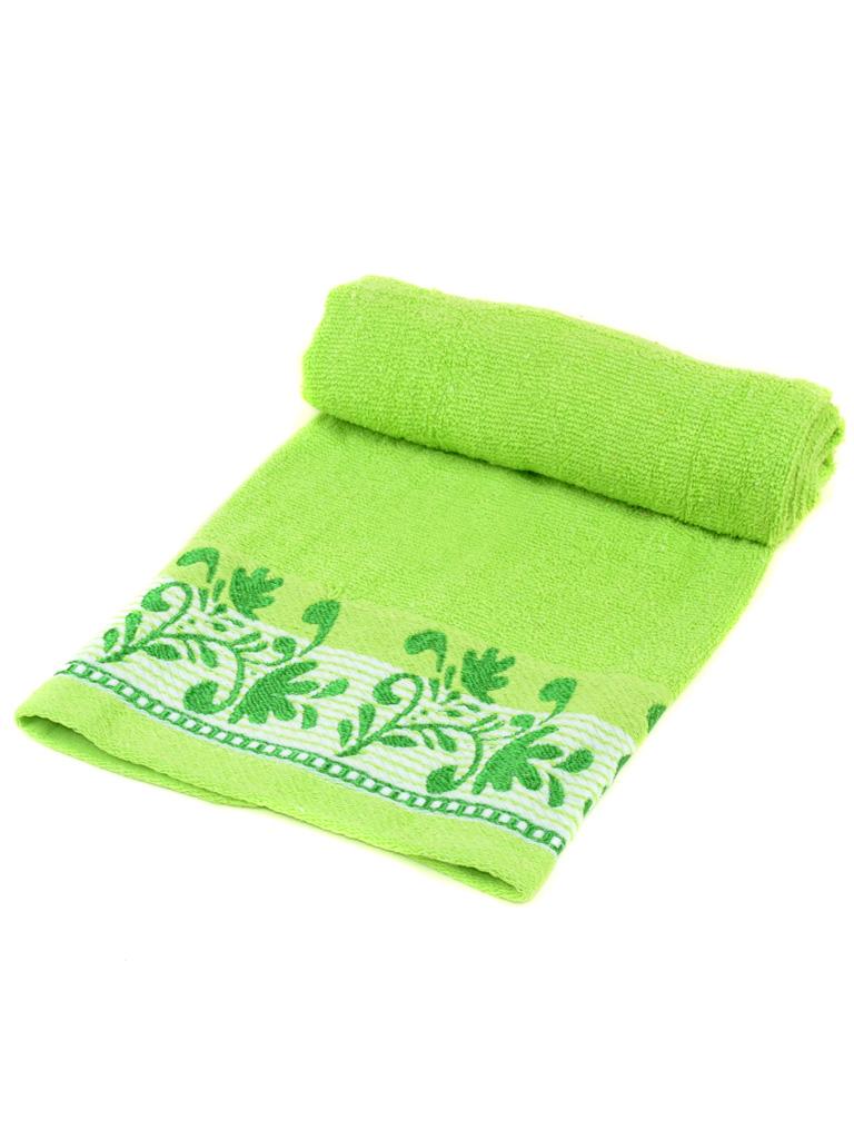 Полотенце Лицевое махра 2909-1 green