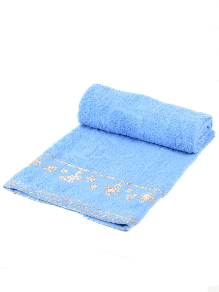 Полотенце Лицевое махра 2911-1 blue