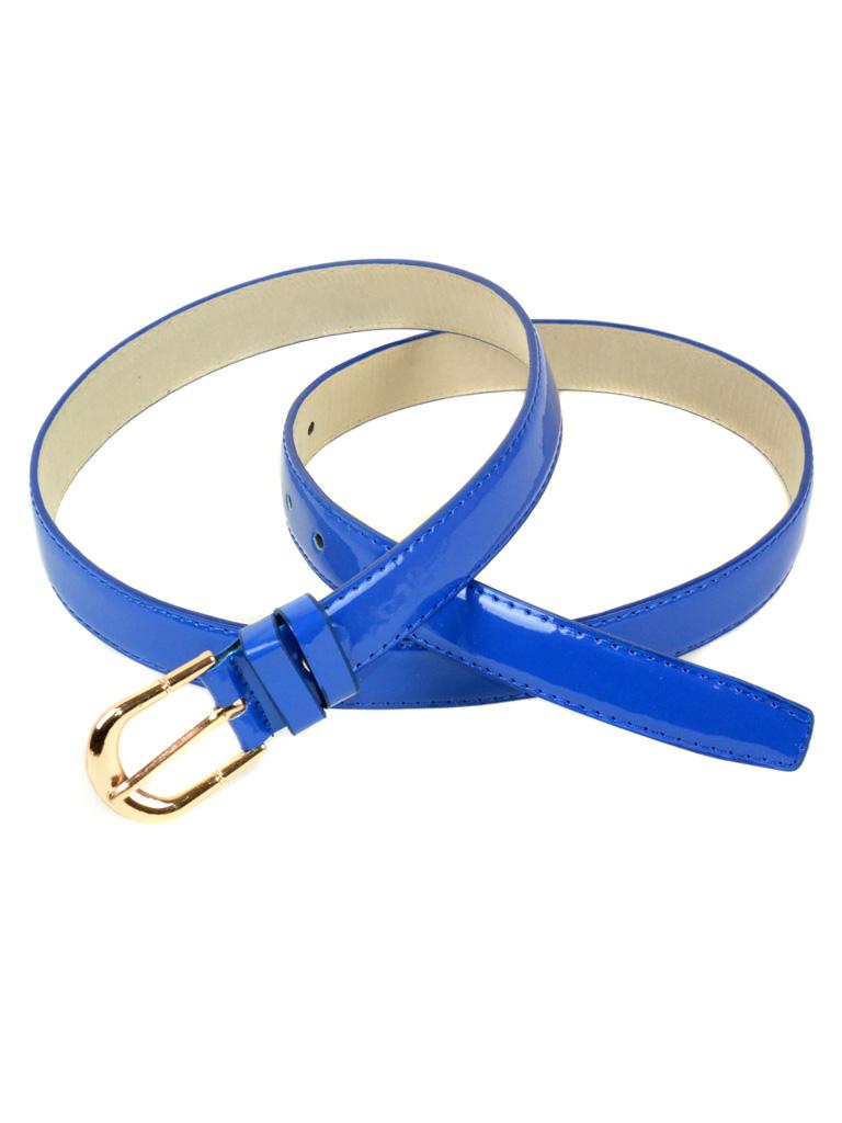 Ремень Женский иск-кожа 2309 blue