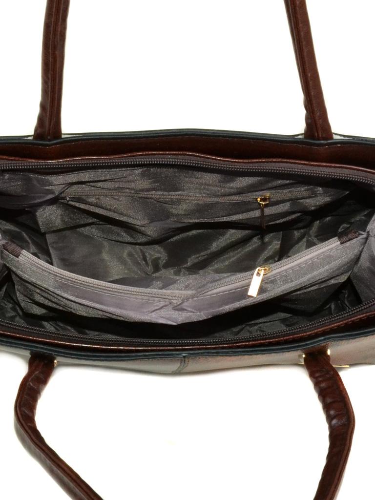 Сумка Женская Классическая иск-кожа 2-03 88022 brown