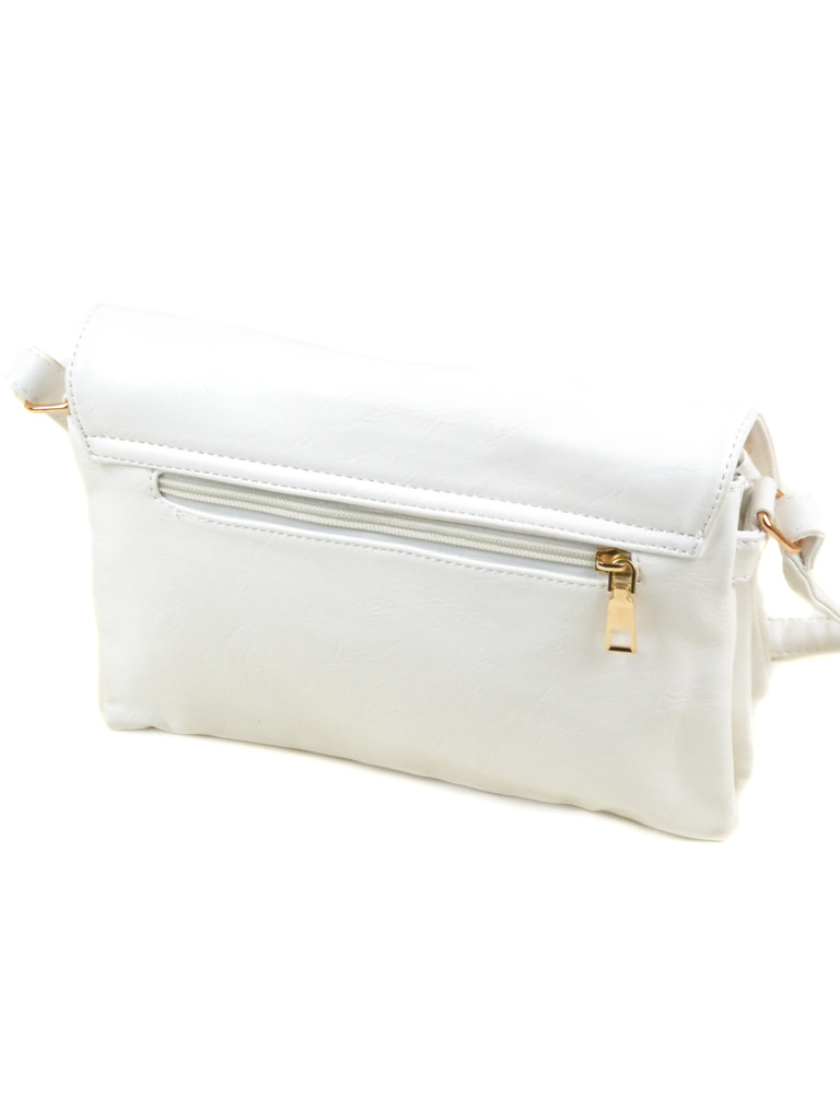 Сумка Женская Клатч иск-кожа 2-03 M-09 white