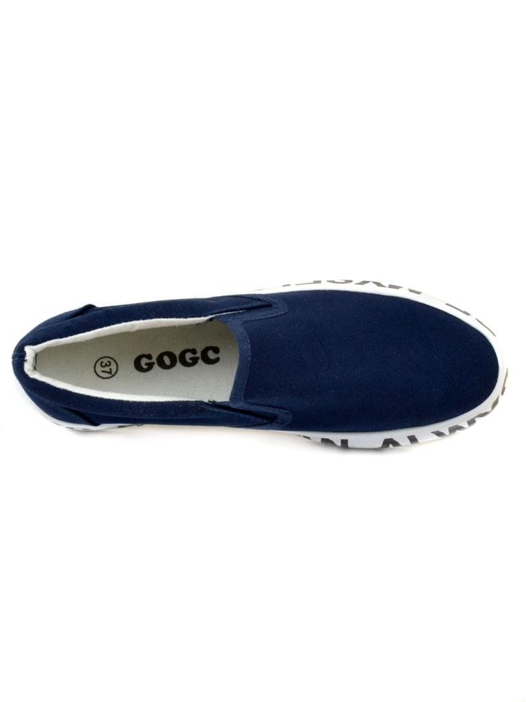 Слипоны G1243-7 dark-blue Распродажа
