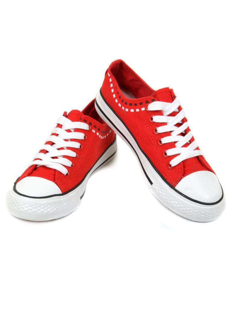 Кеды G1222-13 red Распродажа