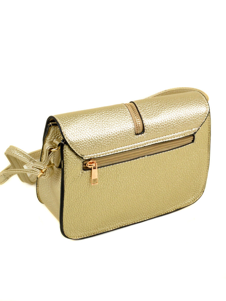 Сумка Женская Клатч иск-кожа 2-04 A803 gold