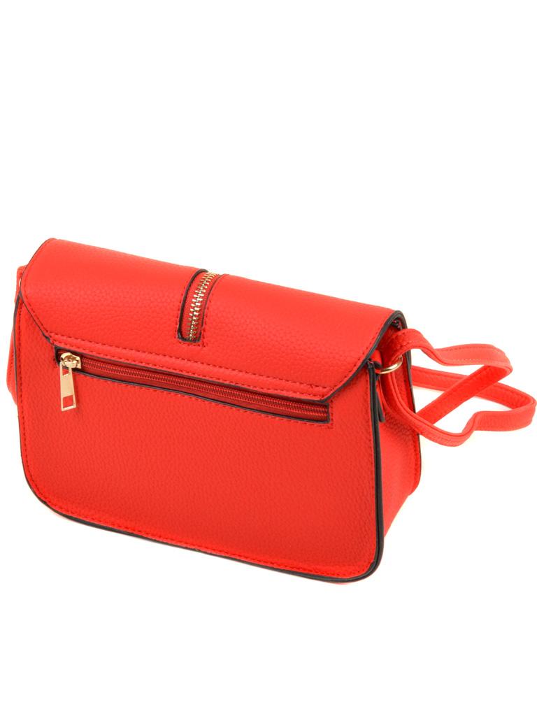 Сумка Женская Клатч иск-кожа 2-04 A803 red