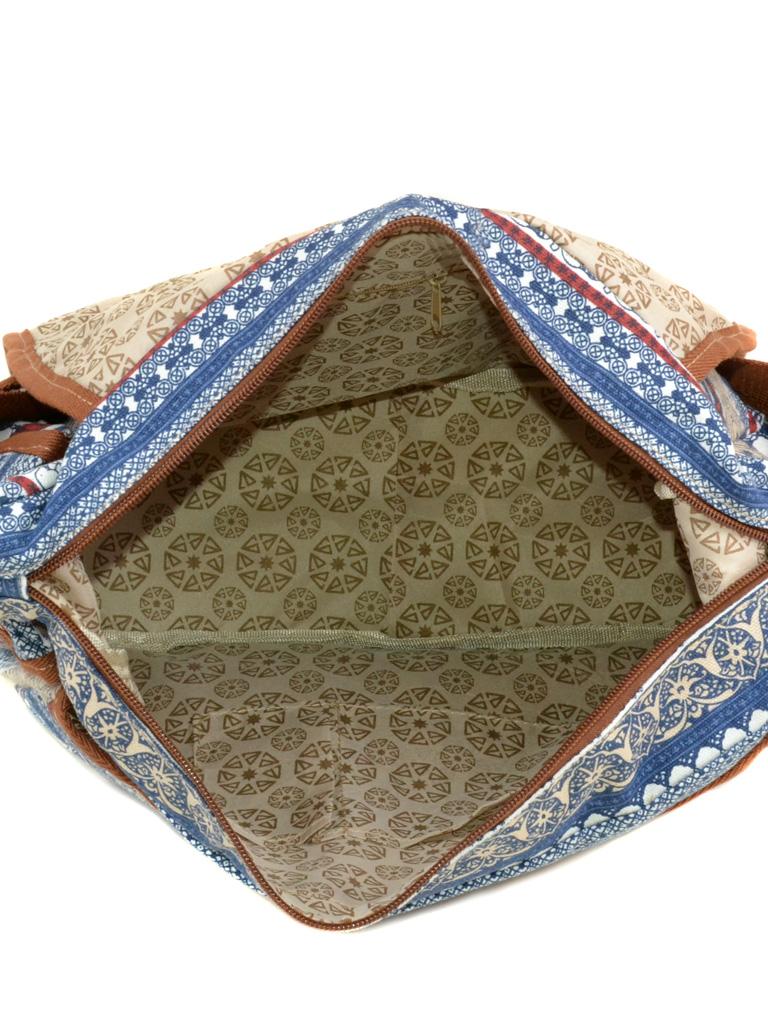 Сумка Женская Рюкзак ткань Индия 3585 YH772-2