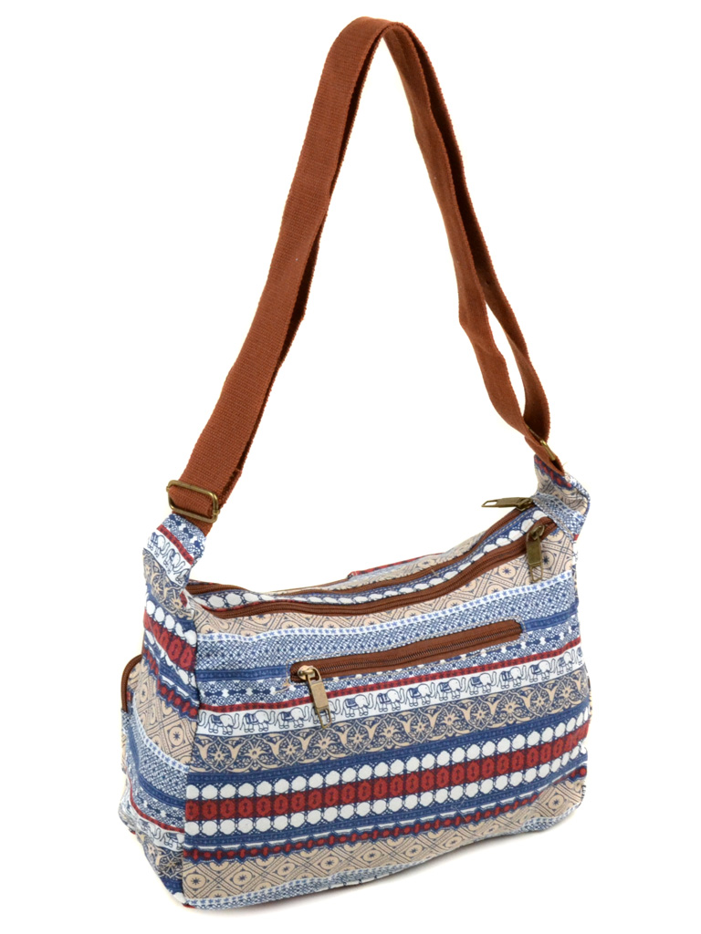 Сумка Женская Рюкзак ткань Индия 6084 YH772-1